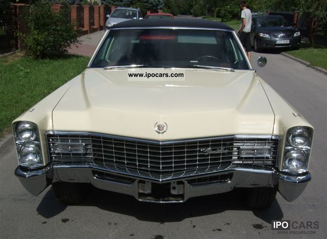 1967 cadillac fleetwood brougham 429 car photo and specs. Black Bedroom Furniture Sets. Home Design Ideas