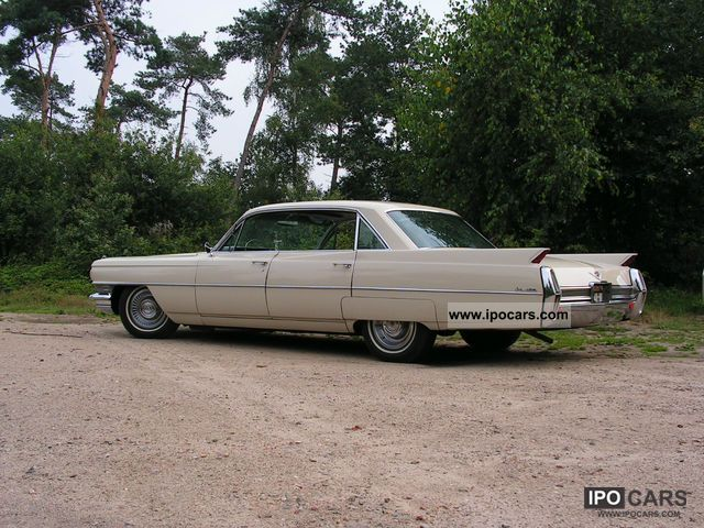1964 Cadillac  De Ville 6 Window with H-plates Limousine Used vehicle photo