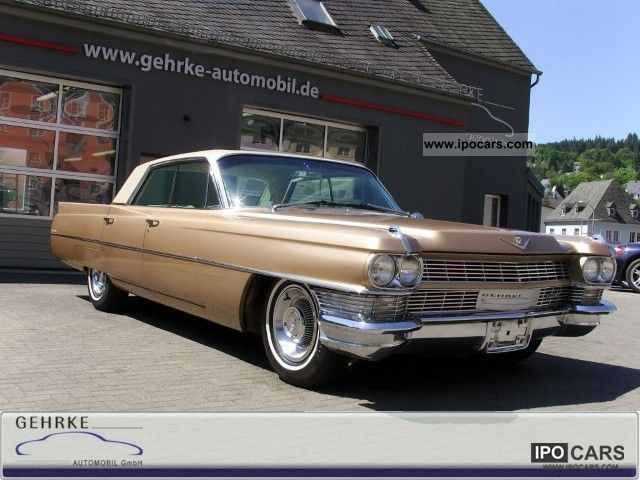 Cadillac  Deville Sedan H-plates without tinkering, Best! 1964 Vintage, Classic and Old Cars photo