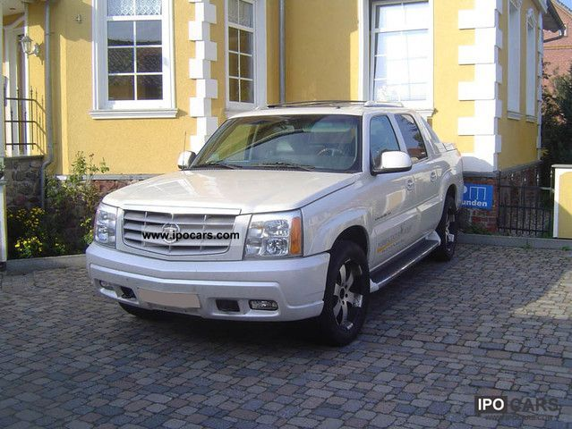 Cadillac  EXT Pickup 2002 Liquefied Petroleum Gas Cars (LPG, GPL, propane) photo