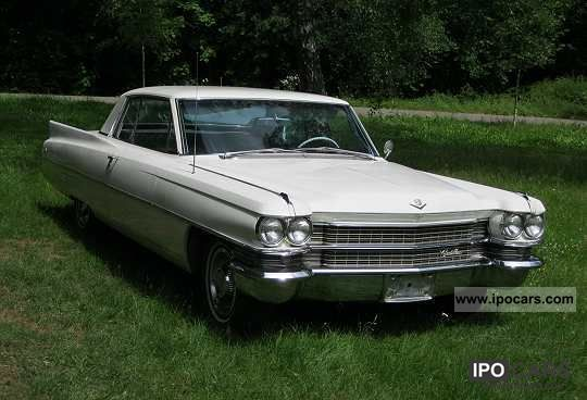 Cadillac  El Dorado Coupe 1963 Vintage, Classic and Old Cars photo