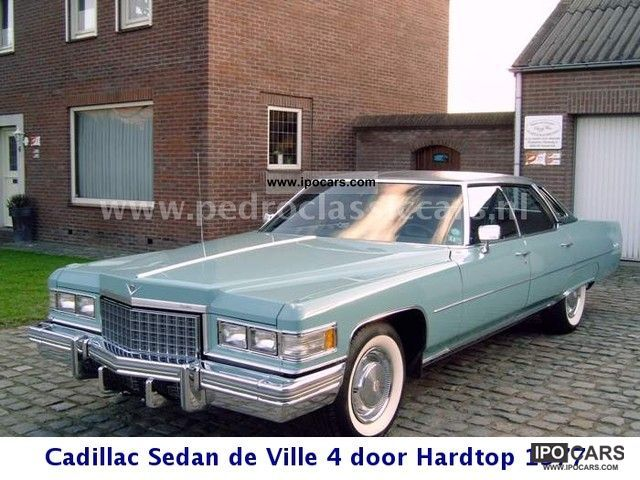Cadillac  4 door hardtop Sedan de Ville 1976 Vintage, Classic and Old Cars photo
