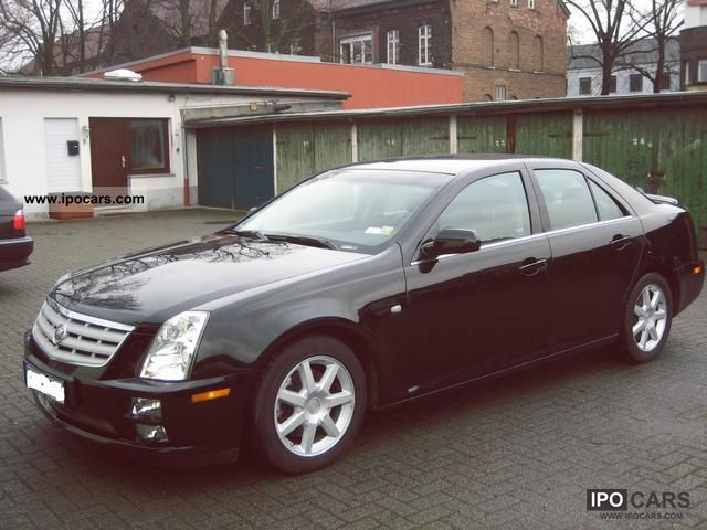 2007 cadillac sts car photo and specs. Black Bedroom Furniture Sets. Home Design Ideas