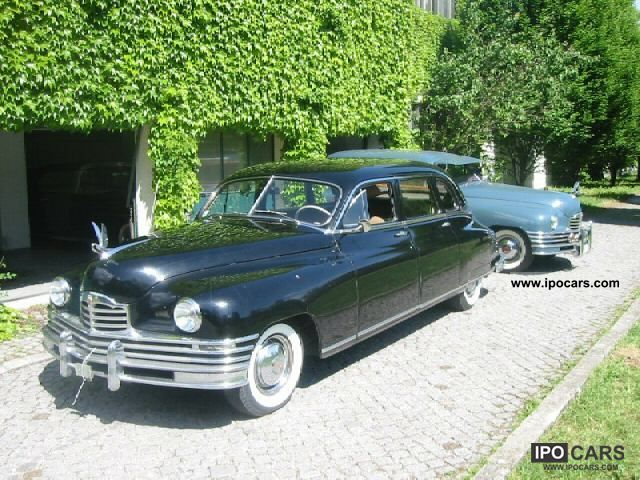 Cadillac  7 Passenger Sedan Packard 22nd 1948 Vintage, Classic and Old Cars photo