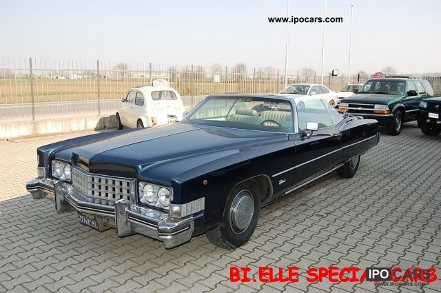 Cadillac  Eldorado Convertibile - ITALIA IN DA SEMPRE - 1973 Vintage, Classic and Old Cars photo