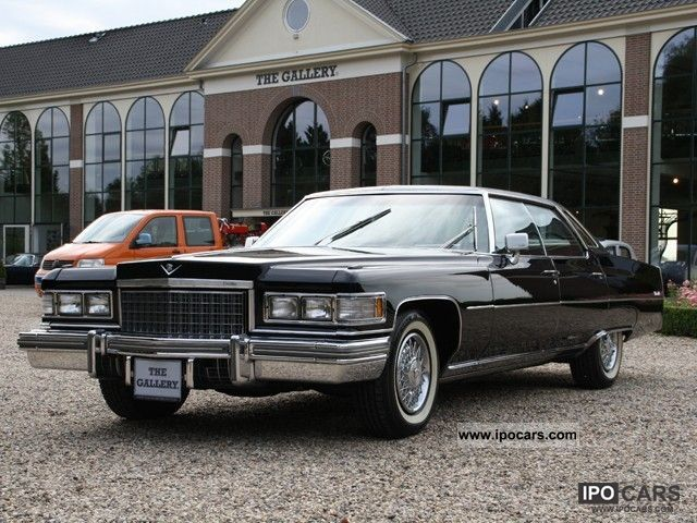 1976 Cadillac  Sedan De Ville 31 000 miles from new! Limousine Classic Vehicle photo