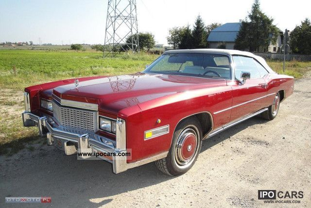 Cadillac  CONVERTIBLE 1976 Vintage, Classic and Old Cars photo