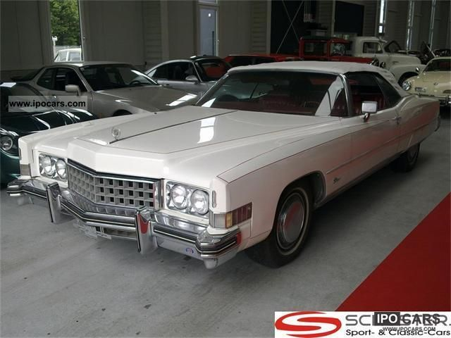 Cadillac  Eldorado Convertible 1973 Vintage, Classic and Old Cars photo