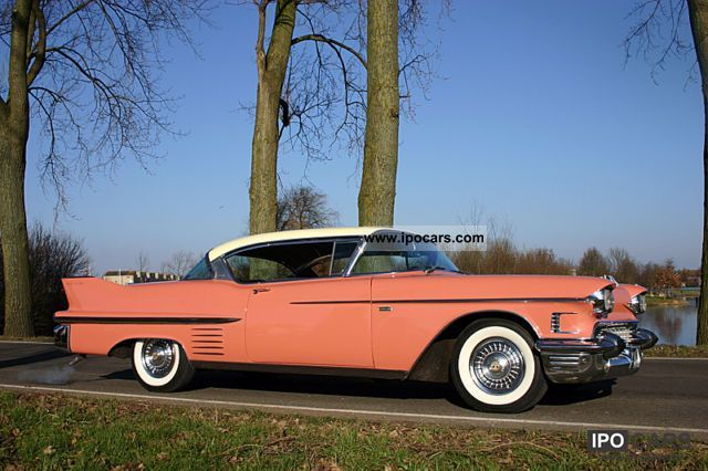 Cadillac  Coupe de Ville 1958 Vintage, Classic and Old Cars photo