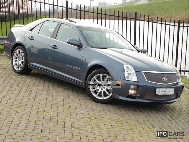 2008 cadillac sts sts v supercharged 4 4 v8 476 pk car. Black Bedroom Furniture Sets. Home Design Ideas