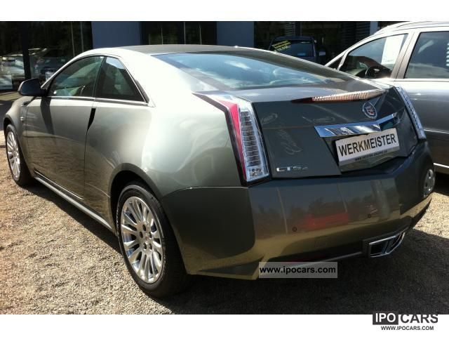 2011 Cadillac Cts 3 6 Sport Luxury Coupe Awd At Car Photo And Specs