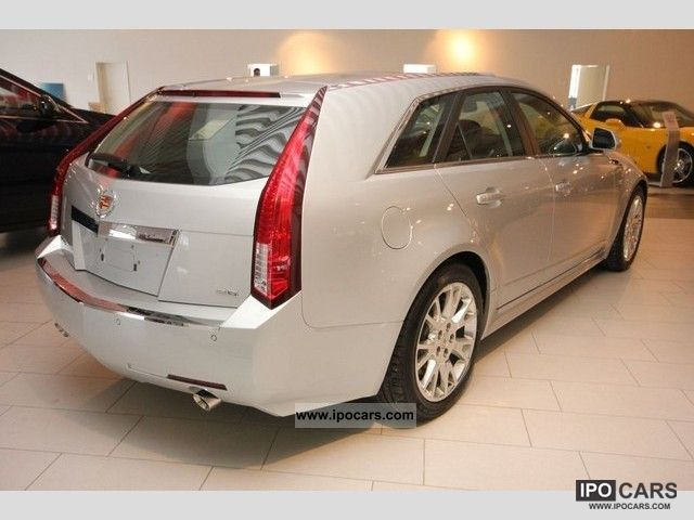 cadillac cts wagon luxury car photo  specs