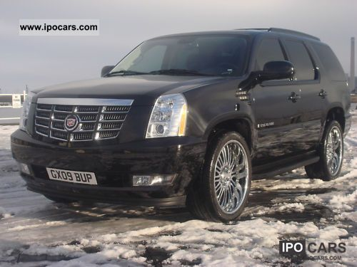 Cadillac  Escalade 6.2 V8 Sport Luxury LPG 24 \ 2009 Liquefied Petroleum Gas Cars (LPG, GPL, propane) photo