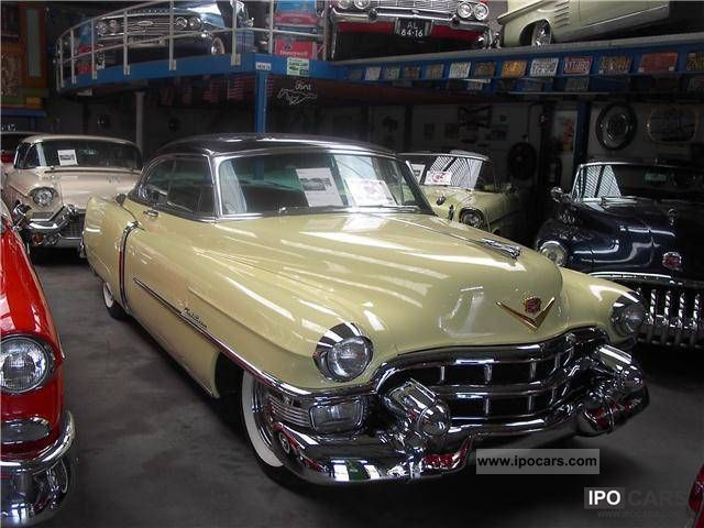 Cadillac  Coupe de Ville, Nice Car,,,, and 40 U.S. Classics 1953 Vintage, Classic and Old Cars photo