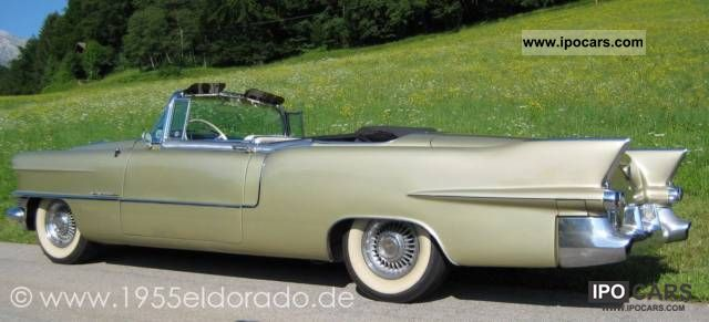 Cadillac  Eldorado Convertible Special 1955 Vintage, Classic and Old Cars photo