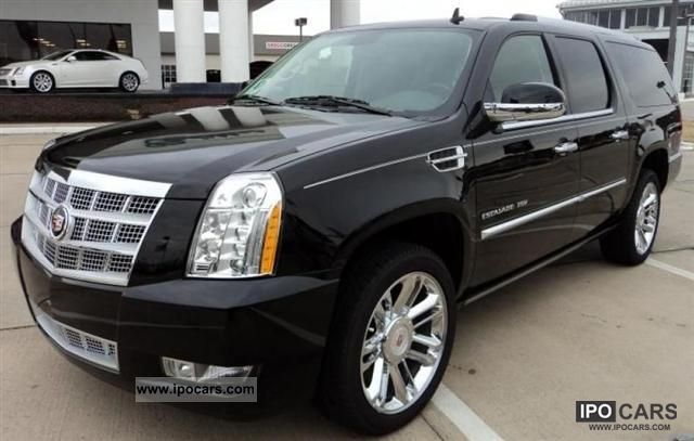 2011 Cadillac ESCALADE ESV PLATINUM MOD. 2012 Off-road Vehicle/Pickup