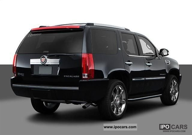 Cadillac  ESCALADE HYBRID = 2011 = 2011 Hybrid Cars photo