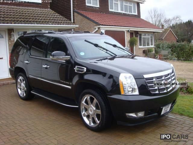 Cadillac  Hybrid Escalade 6.0 V8 Sport Luxury 2009 Hybrid Cars photo