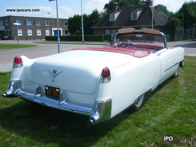 1954 Cadillac  Convertible 1954, and 40 U S A CLassic Cars more Cabrio / roadster Classic Vehicle photo