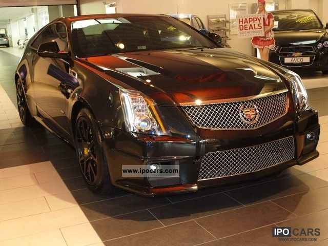2011 cadillac cts v supercharged coupe black diamond metallic car photo and specs. Black Bedroom Furniture Sets. Home Design Ideas