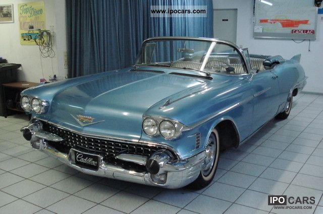 Cadillac  Eldorado Biarritz 1958 Vintage, Classic and Old Cars photo