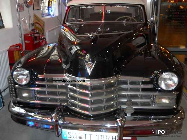 Cadillac  Convertible Ser. 62 1947 Vintage, Classic and Old Cars photo