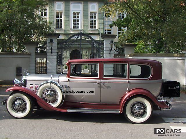 Cadillac  IMPERIAL 7 PASSENGER orig.getreu RESTORED 1931 Vintage, Classic and Old Cars photo