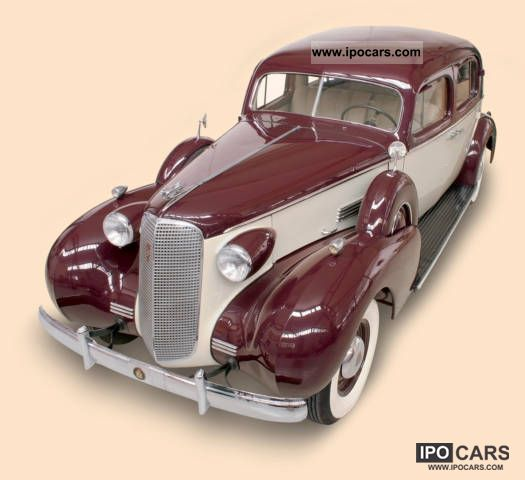 Cadillac  Town Sedan 1936 Vintage, Classic and Old Cars photo