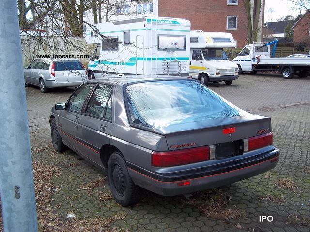 1990 Chevrolet Corsica Car Photo And Specs