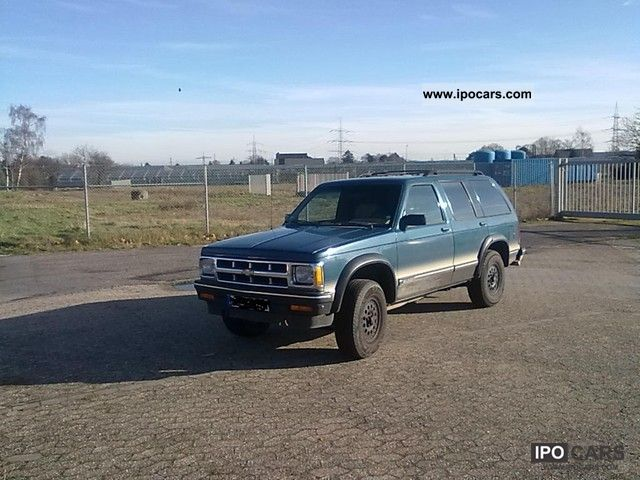 1992 Chevrolet  Blazer Off-road Vehicle/Pickup Truck Used vehicle photo