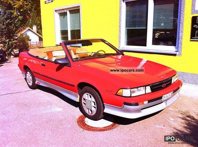 1988 Chevrolet  Cavalier Cabrio / roadster Used vehicle photo