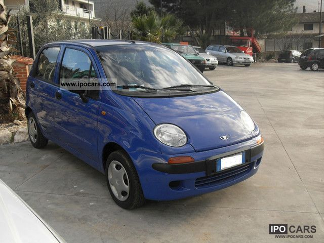 2000 Chevrolet Matiz - Car Photo and Specs