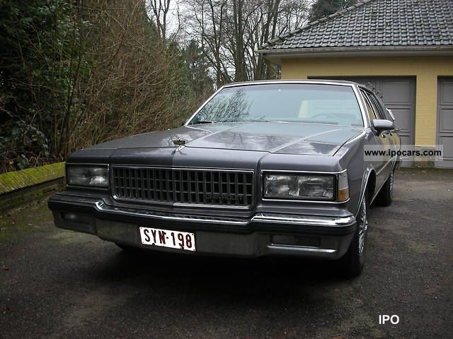 1989 Chevrolet  Caprice Estate Car Used vehicle photo