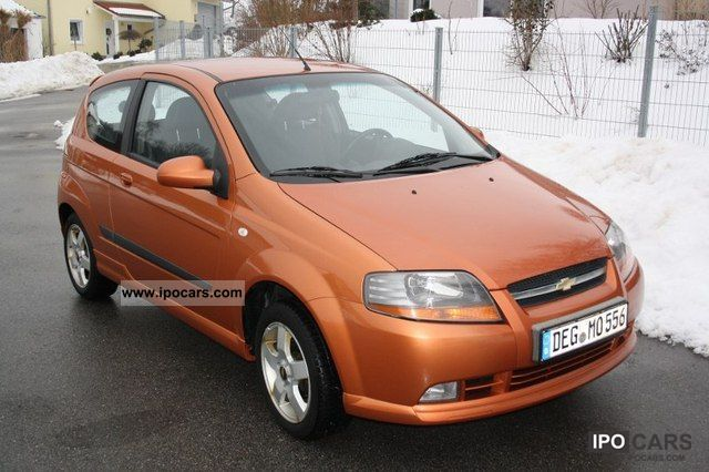 Chevrolet  Kalos 1.4 16V SX Auto 2006 Liquefied Petroleum Gas Cars (LPG, GPL, propane) photo