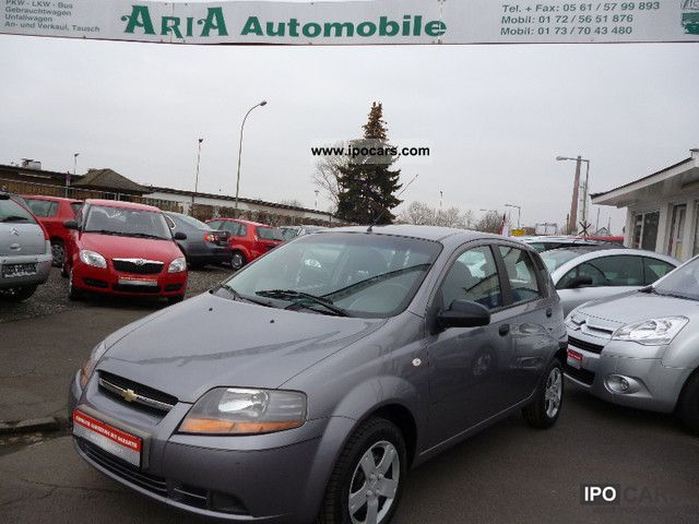 2006 Chevrolet  Aveo 1.2 LS 102000KM 1.Hand climate Small Car Used vehicle photo