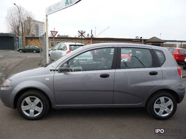 2006 chevrolet aveo 1 2 ls 102000km 1 hand climate car. Black Bedroom Furniture Sets. Home Design Ideas