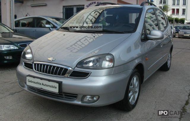 2003 Chevrolet  Tacuma 2.0 CDX climate, LM, TC Van / Minibus Used vehicle photo