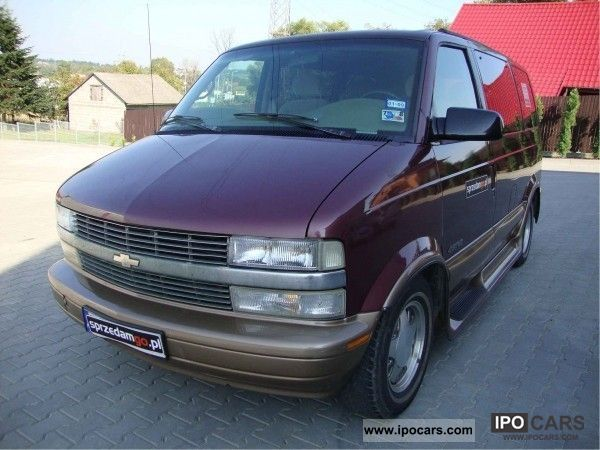1997 Chevrolet  Astro 4.3 V6 VORTEC SPRZEDAMGO Van / Minibus Used vehicle photo