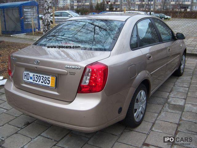 2004 Chevrolet  Nubira BENZ GAZ OPŁACONY Limousine Used vehicle photo