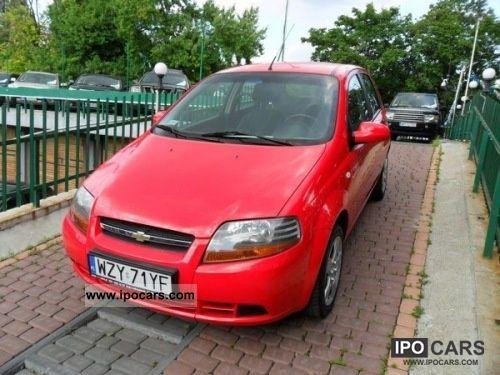 2006 Chevrolet  Aveo BEZWYPADKOWY, GWARANCJA Other Used vehicle photo