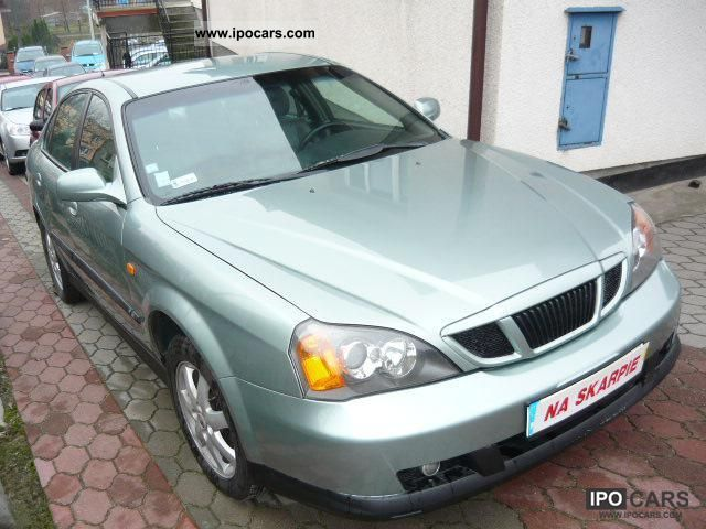 Chevrolet  Daewoo Nubira 2004 Liquefied Petroleum Gas Cars (LPG, GPL, propane) photo