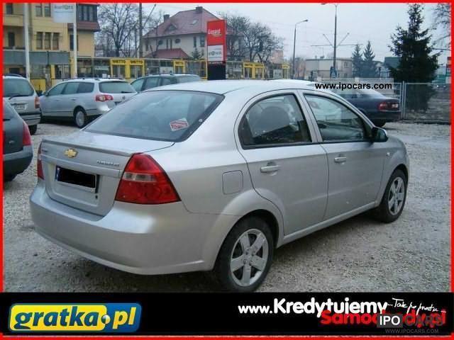 2006 Chevrolet  SALON Aveo POLSKA / KredytujemySamochody.pl Limousine Used vehicle photo