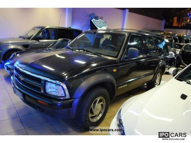 1998 Chevrolet Blazer 4 3 V6 4wd Lt 5 Porte Car Photo