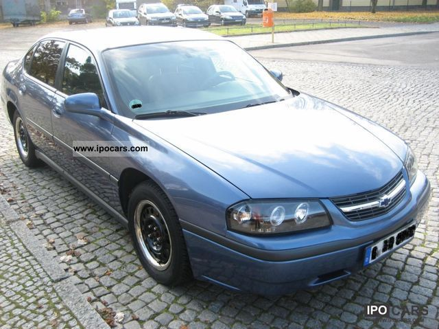 2000 Chevrolet Impala Car Photo And Specs