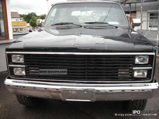 1986 Chevrolet  K5 Blazer * Hardtop * 6.2 diesel * Off-road Vehicle/Pickup Truck Used vehicle photo