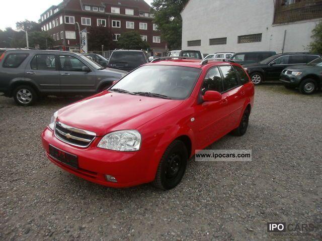 2008 Chevrolet  Nubira 2.0 CDX + D combination Klimaaut. + TÜV again! + M + S Estate Car Used vehicle photo