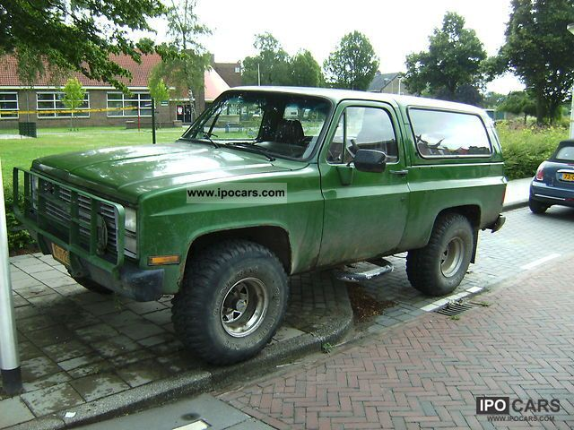 Chevrolet  K5 blazer bj 81 1981 Liquefied Petroleum Gas Cars (LPG, GPL, propane) photo