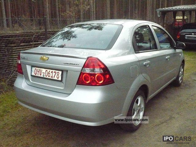 2008 Chevrolet Aveo 14 16v Lt 4 Door Sedan Car Photo And Specs