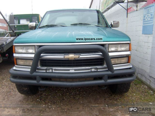 1994 Chevrolet  Open box truck 4x4 Off-road Vehicle/Pickup Truck Used vehicle photo