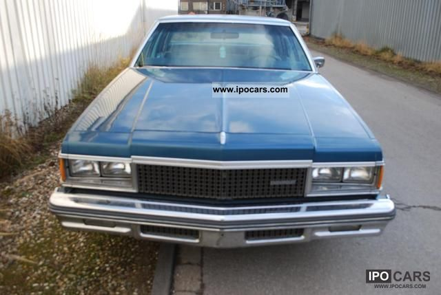 Chevrolet  Caprice 77 H-approval 1978 Vintage, Classic and Old Cars photo